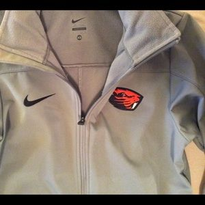 XS Oregon State Gray Nike Jacket